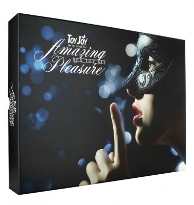 Sada AMAZING PLEASURE SEX TOY KIT